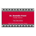Family Dentist Business Card - Happy Teeth