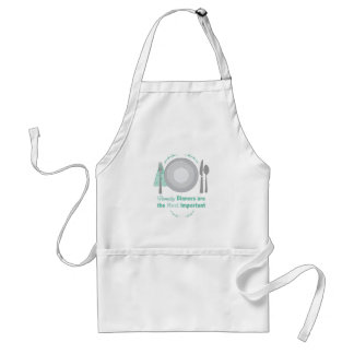 Family Dinners Standard Apron