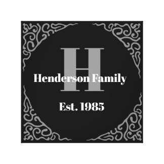 Family Established Personalized Wall Art -