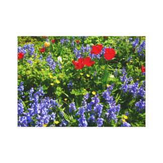 Family Garden Canvas Print