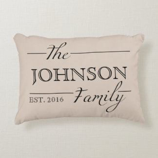 Family Gift Personalized Custom Pillow Home Decor