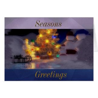 Family greetings to the Season Card