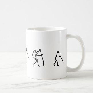 family hiking cup basic white mug