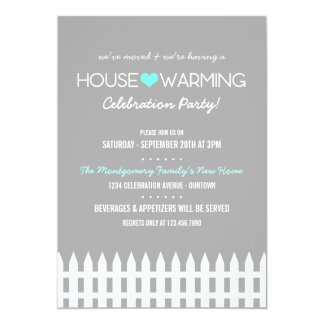 Family Housewarming Party Invitation