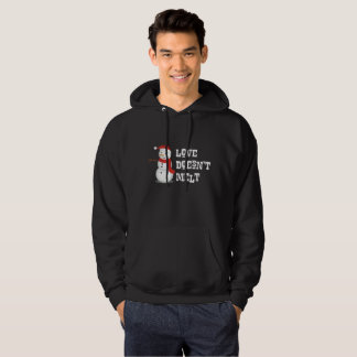 Family is Forever Love Doesn't Melt Winter Hoodie