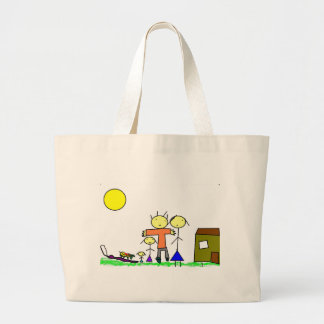 Family Large Tote Bag