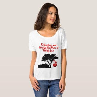 Family Love Family Tree Quote Heart Tree T-Shirt