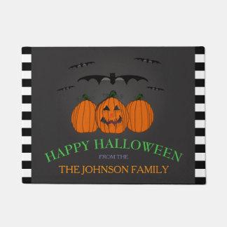 Family Name: Happy Halloween Door Mat