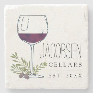 Family Name Wine Cellars Stone Coaster
