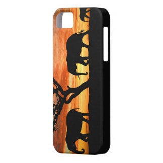 Family of African Elephants iPhone 5/5s case