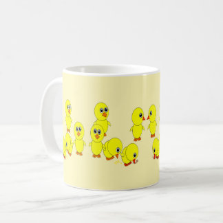 family of chicks coffee mug