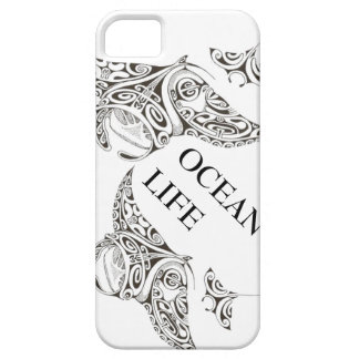 family of manta-rays ocean life iPhone 5 cases