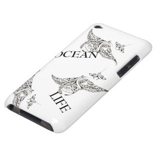 family of manta-rays ocean life iPod touch covers