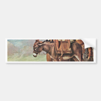 Family Of Milk Seller By Le Nain Louis (Best Quali Bumper Sticker