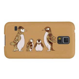 Family of Penguins Galaxy S5 Cover