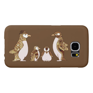 Family of Penguins Samsung Galaxy S6 Cases