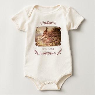 Family of Quail Baby Shirt