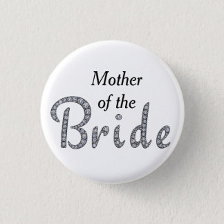 Family of the Bride bling button