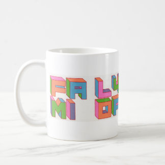 Family of the Year Logo Basic White Mug