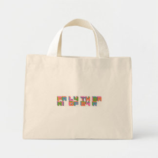 Family of the Year logo tote Mini Tote Bag