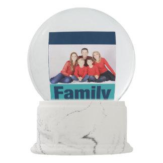 Family Personalized Photo Snow Globe
