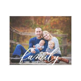 Family Photo Canvas