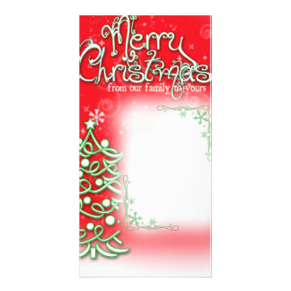 Family Photo Christmas Greeting Card Photo Cards