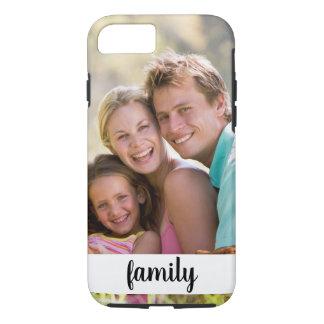 Family Photo Theme iPhone 8/7 Case
