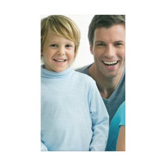 Family Photos Set I on Canvas Wall Art