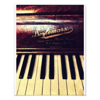Family Piano Photo Print
