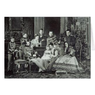 Family Portrait of Emperor Alexander II Card