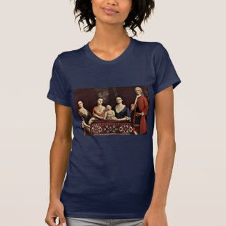 Family Portrait Of Isaac Royall By Feke Robert T Shirts