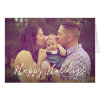Family Portrait Photo Greeting Card