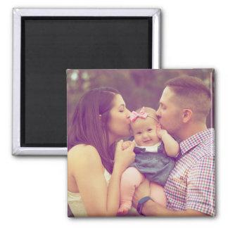 Family Portrait Photo Magnet