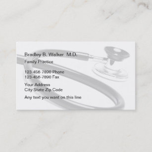 Family Practice Doctor Business Cards