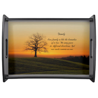 FAMILY QUOTE SERVING TRAY