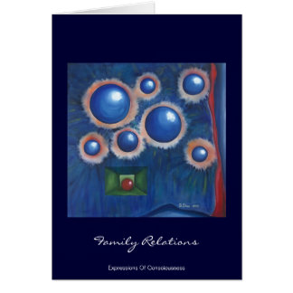 Family relations card