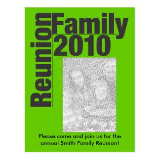 Family Reunion 2010 Invite Postcard