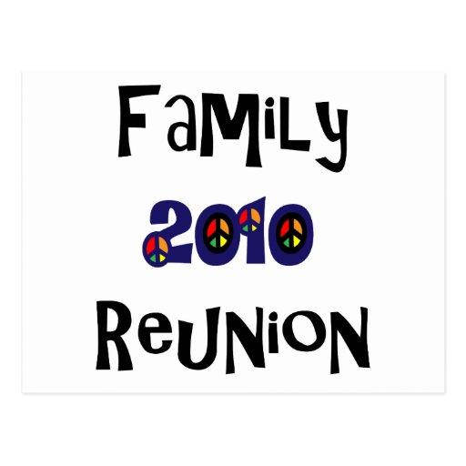 Family Reunion 2010 Postcard