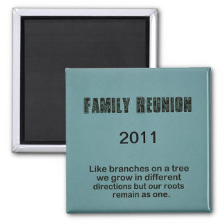 Family Reunion 2011 Refrigerator Magnets