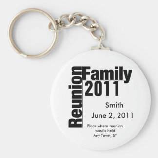 Family Reunion 2011 souviner keychain