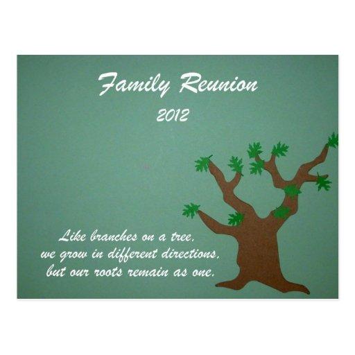 Family Reunion 2012 Postcard