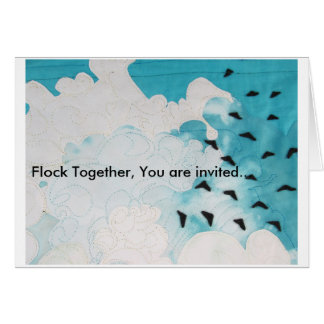 Family Reunion Stationery Note Card