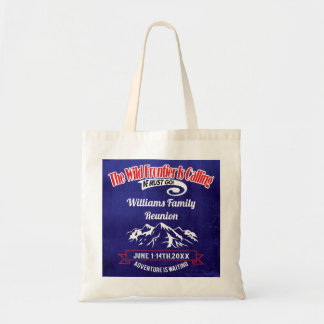 Family Reunion Cruise Alaska Adventure Tote Bag