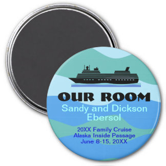 Family Reunion Cruise Door Magnet ID Memento