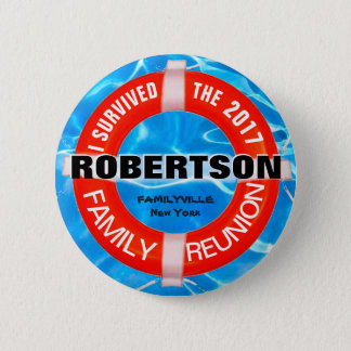 Family Reunion Custom Button