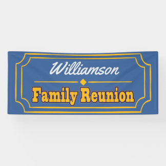 Family Reunion Decoration Banner