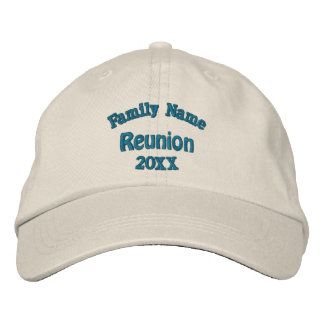 Family Reunion Embroidered Hats