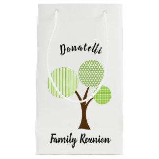 Family Reunion Favor Souvenir Gift Small Gift Bag