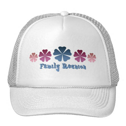 Family Reunion Mesh Hats